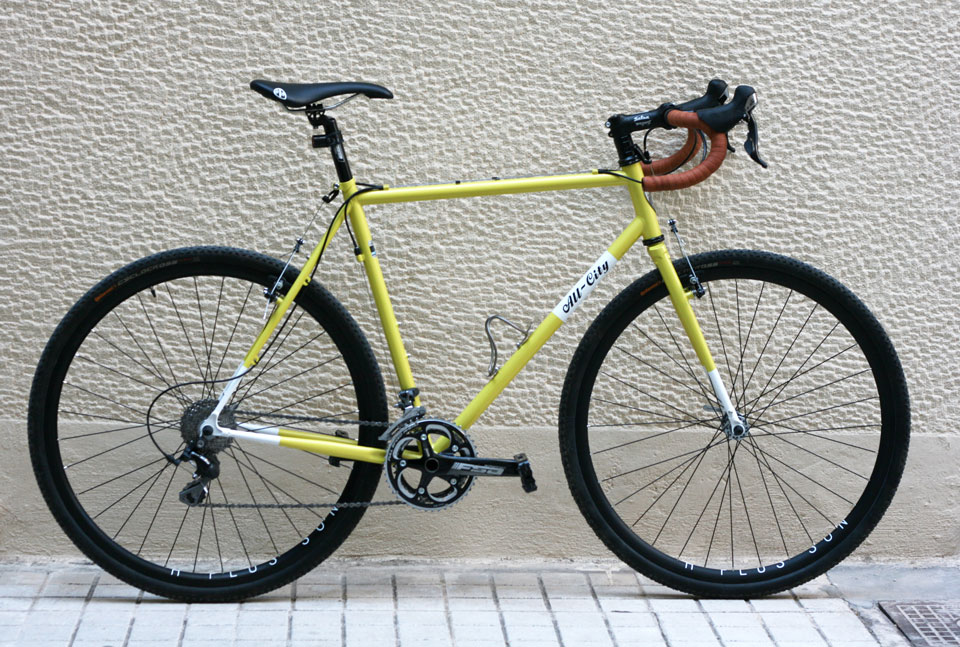 All City Macho Man Cyclocross Complete 48x17 Cycles