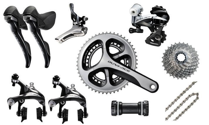 Dura Ace 9000 >> Shimano 2x11 Dura Ace 9000 Road Groupset 48x17 Cycles
