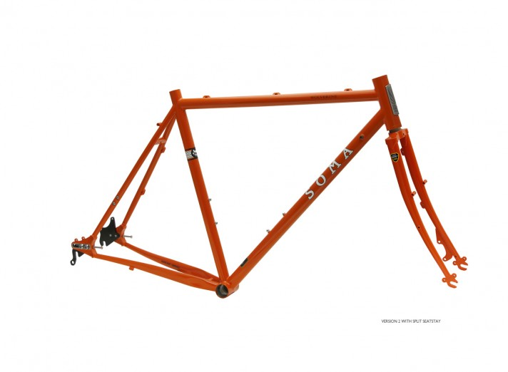 SOMA Wolverine Disc Cyclo-Cross Frame set – 48x17 cycles