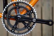 crankset on bike