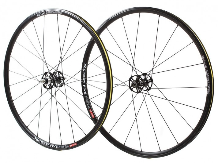 Factory 5 Pista wheelset