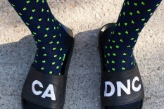 cadence accent navy socks