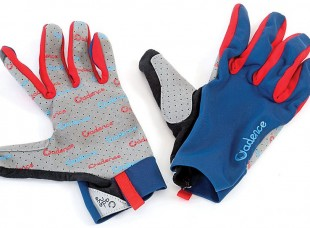 cadence minimalist gloves blue